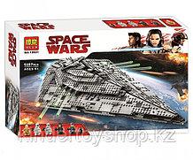 Конструктор Bela 10901 Звёздный разрушитель Первого Ордена (аналог лего lego Star Wars 75190)