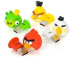USB Flash 16Gb Angry Birds (подарочная, сувенирная серия) флэшка