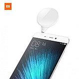 Освещение для съемки сэлфи Xiaomi Mi Selfie LED flash light. Подключение в аудиоразъем. Оригинал., фото 2