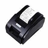 Принтер чеков Xprinter XP-58IIH, 58mm, USB POS термопринтер чековый для магазинов, бутиков, кафе и д, фото 2