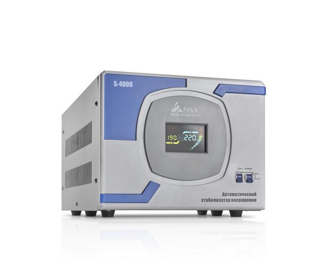Стабилизатор напряжения (AVR), SVC, S-4000(3000Вт)