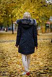 Зимняя куртка парка с мехом на SATU.KZ, фото 2