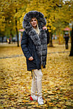 Зимняя куртка парка с мехом на SATU.KZ, фото 3