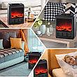 Электрокамин с эффектом живого огня Теплый дом, фото 4