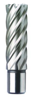 Кольцевая фреза (полое корончатое сверло) из HSS, длиной 30 мм и Ø 21 мм.