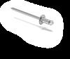Конструкция навесной фасадной системы с воздушным зазором СЛМ-ОК-002 для облицовки металлокассетами в межэтажн, фото 5