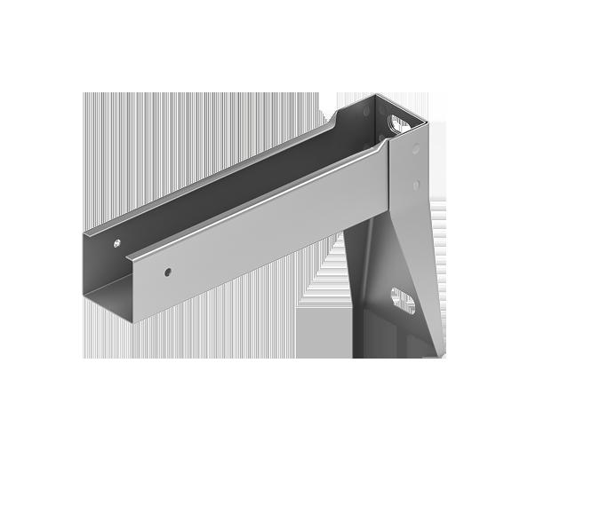 Кронштейн усиленный для подконструкцию  вентилируемого фасада