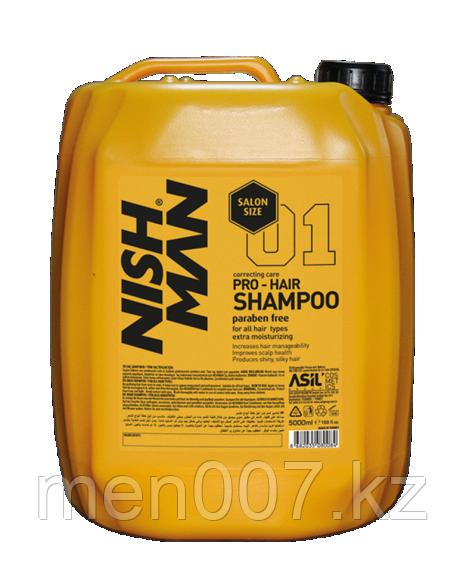 Nishman PRO Hair Shampoo (Шампунь для волос) 5000 мл.