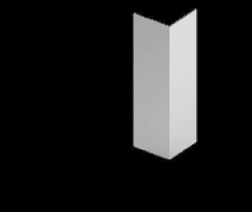 Стойка угловая  для подконструкцию  вентилируемого фасада с нержавеющий стали, фото 2