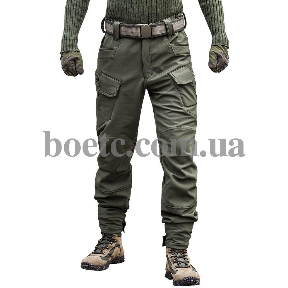 """Брюки SoftShell """"DIVISION"""" OLIVE // РАЗМЕР 48-50"""