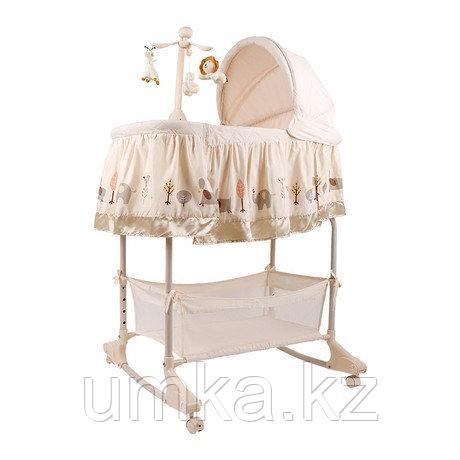 Детская колыбель кроватка для новорожденных 4 в 1  PL501