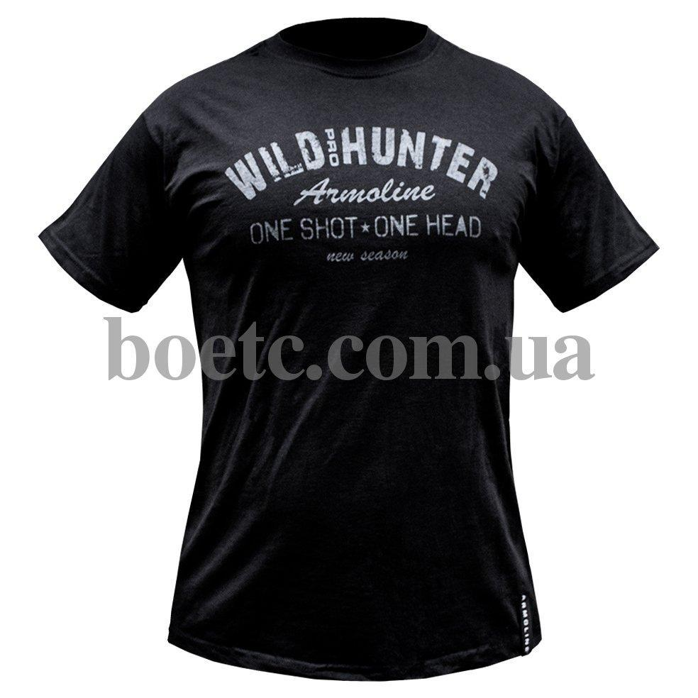 "Футболка ""WILD HUNTER"" BLACK"