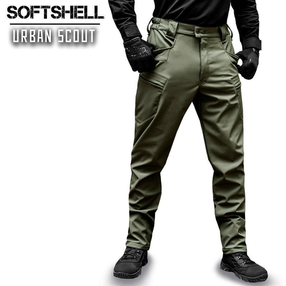 "Брюки SoftShell ""URBAN SCOUT"" OLIVE"