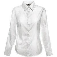 Рубашка женская LONG SLEEVE OXFORD SHIRT LADY-FIT 130 Белый M