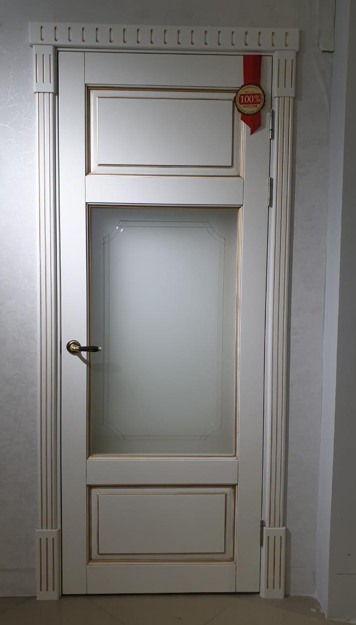 Межмнатные двери модель ОЛ 55 ольха массив