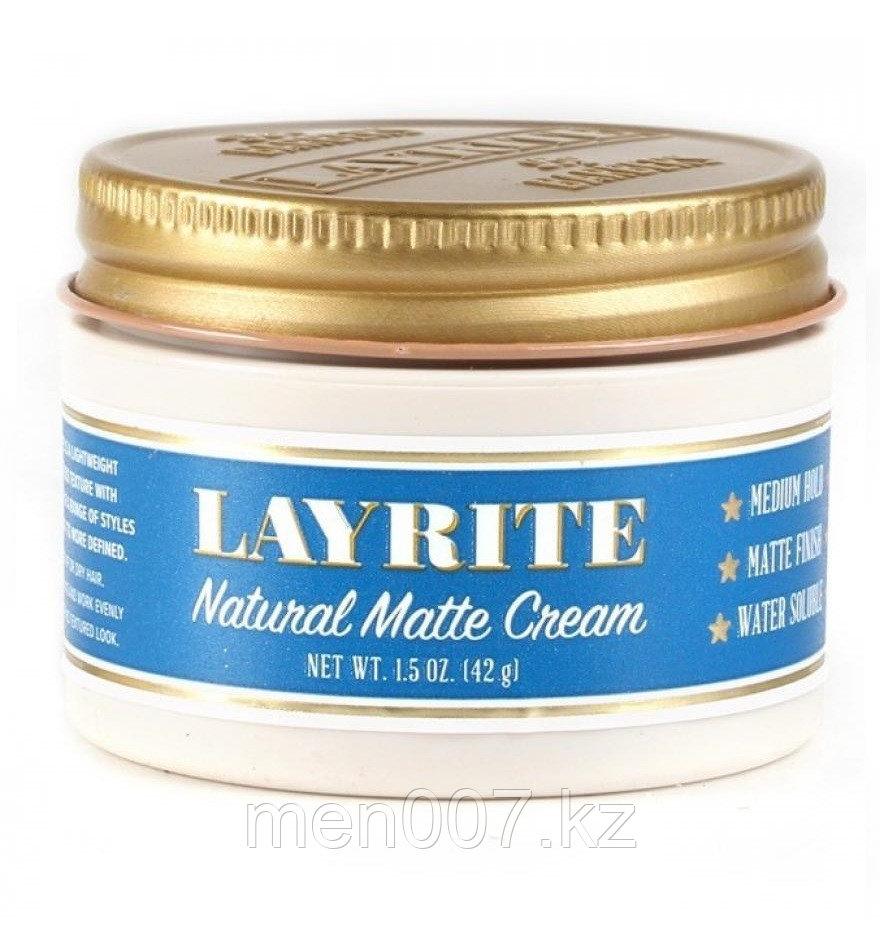 Layrite Natural Matte Cream (помада для укладки волос) 42 г.