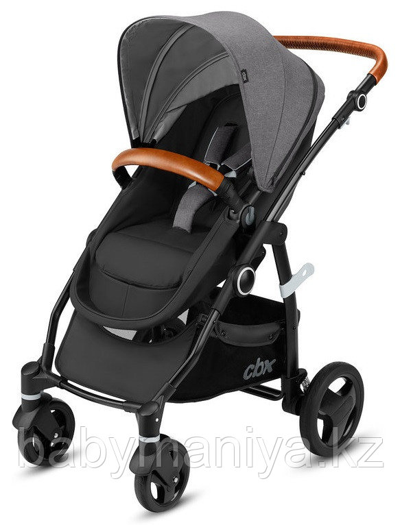Коляска-трансформер CBX by Cybex Leotie  Flex Lux Comfy Grey