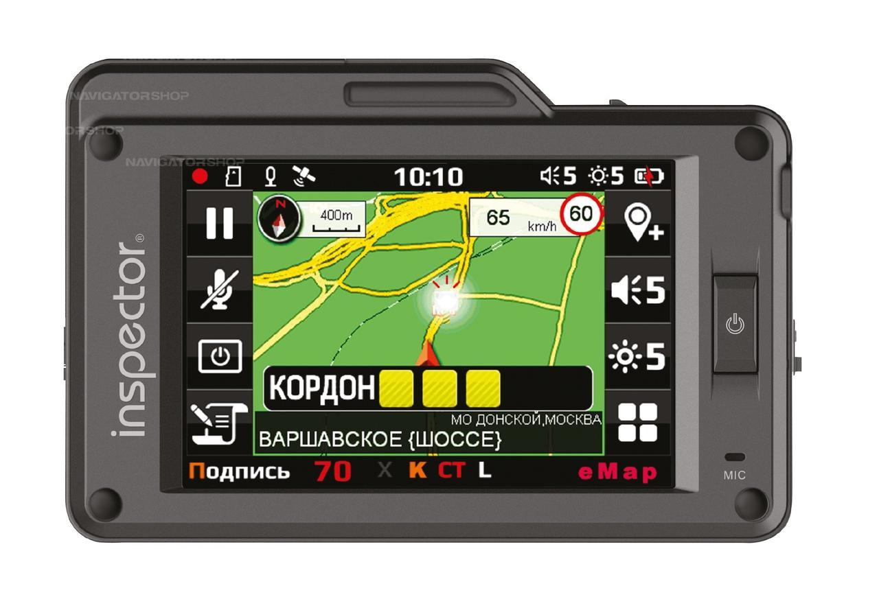 Автомобильный радар-детектор - видео регистратор Inspector Scat  Ambrella A7