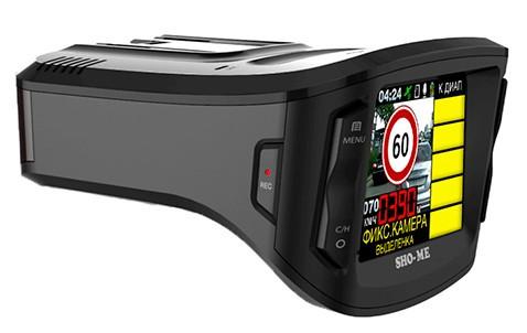 Автомобильный радар-детектор - видео регистратор Sho-Me Combo 5 a12