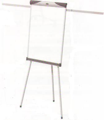 Доска-флипчарт 60x90см, магнитно-маркерная, 2 держателя, 3ножки, пробк.вставка Data Zone