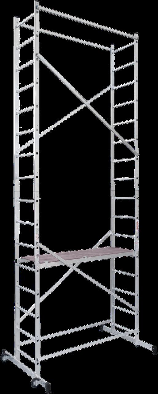 Вышка-тура алюминиевая 5,12 м