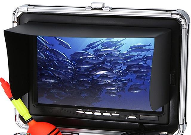 """Видеокамера для рыбалки """"SyanSpan F01"""": большой монитор"""