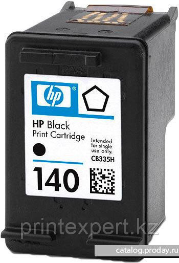 Картридж HP CB335HE Black Inkjet Print Cartridge №140, 4.5ml
