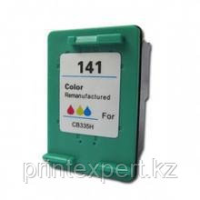 Картридж HP CB337HE Tri-color Inkjet Print Cartridge №141, 3.5ml, фото 2