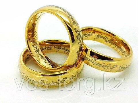 """Кольцо """"Всевластие"""" золотое"""