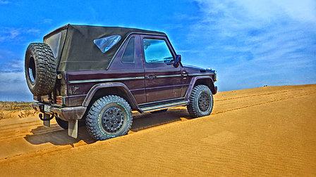 Джип сафари в песчаной пустыне Тау кум вблизи Алматы, фото 2