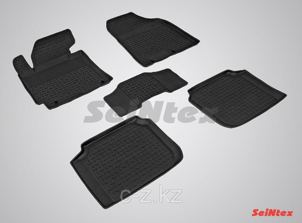 Резиновые коврики для KIA Cerato 2013-н.в.