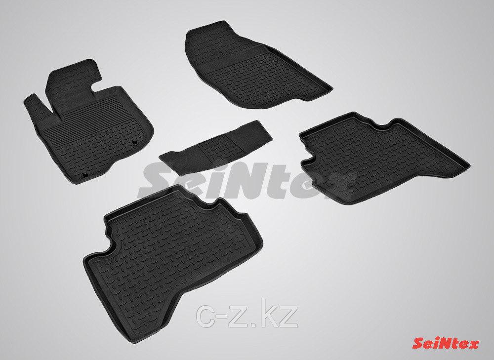 Резиновые коврики для Mitsubishi L200 2006-н.в.