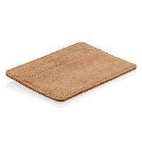 Эко-кошелек Cork c RFID защитой коричневый Длина 10,2 см., ширина 0,2 см., высота 7,6 см. P820.879