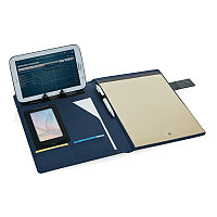 Папка для документов Basic, синий; черный, Длина 1,5 см., ширина 25 см., высота 31 см., P772.105