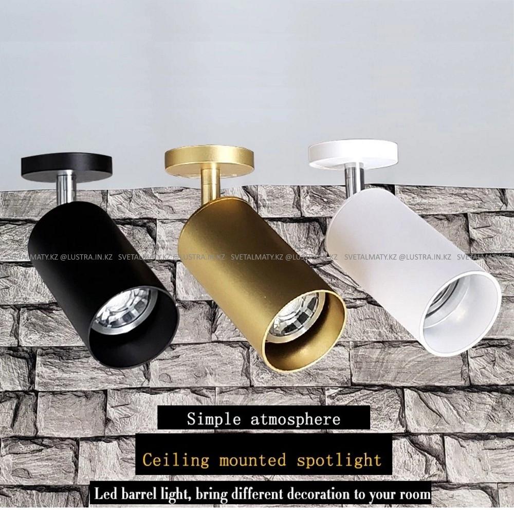Потолочный светильник в стиле Модерн с направляемыми плафонами