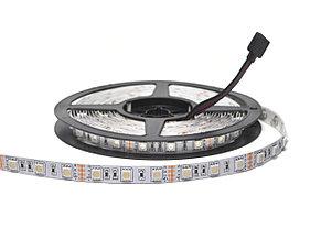 Светодиодная лента RGB SMD 5050 IP33 12V 60д/м, негерметичная