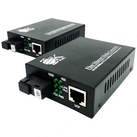 Оптический медиаконвертер OK-950GS-40A/B ( до 40км), фото 2