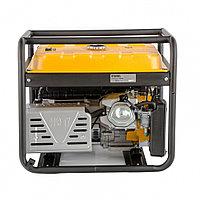 Генератор бензиновый PS 80 E-3, 6.5 кВт, 400 В, 25 л, электростартер// Denzel