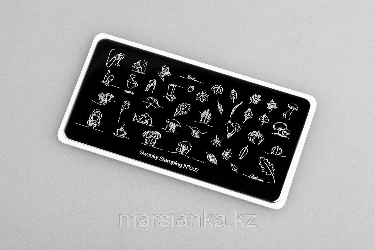 Пластина Swanky Stamping #07