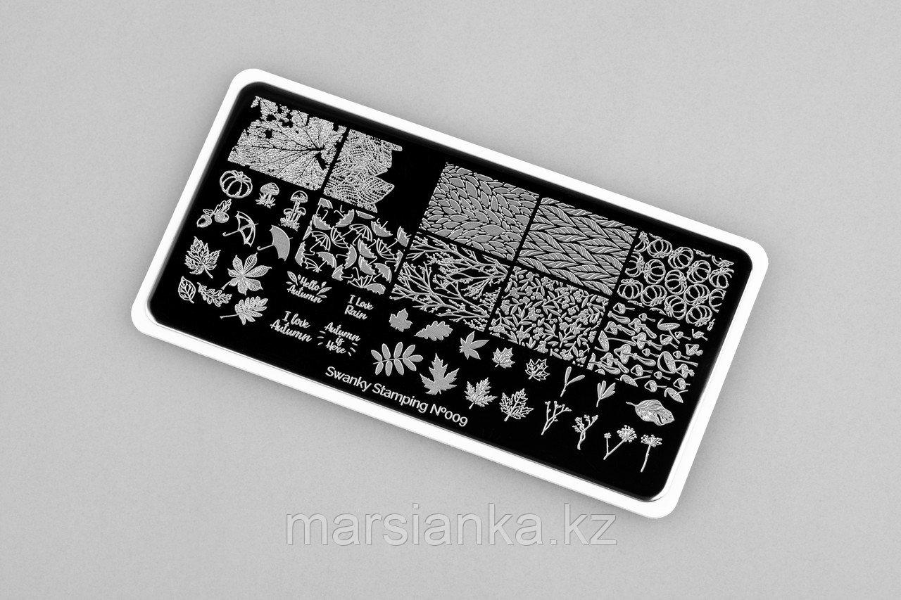 Пластина Swanky Stamping #09