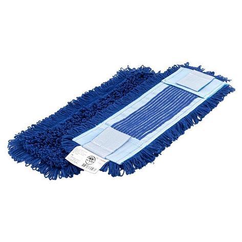 Моп плоский, 40х13 см, микрофибра, ухо+карман, синий НОВИНКА, фото 2