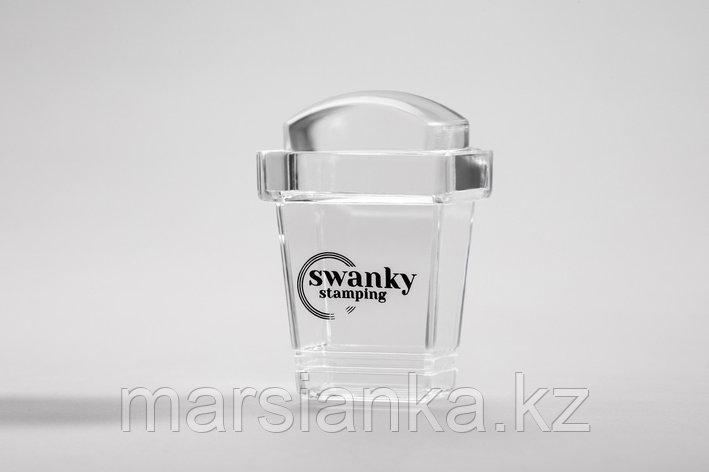 Штамп Swanky Stamping, силиконовый, прямоугольный, высокий 2*3 см, фото 2