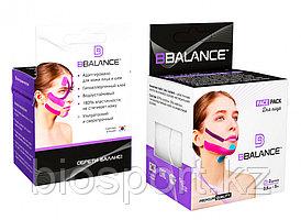 Кинезио тейп для лица BBTape Face Pack 2.5 см х 10 м Лайм