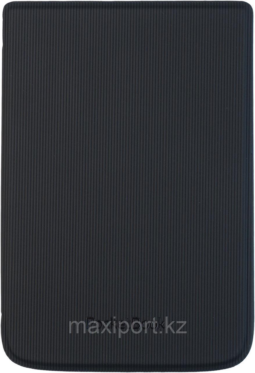 Чехол Pocketbook 616 626 632 модель в полосочку черный hpuc-632-b-s