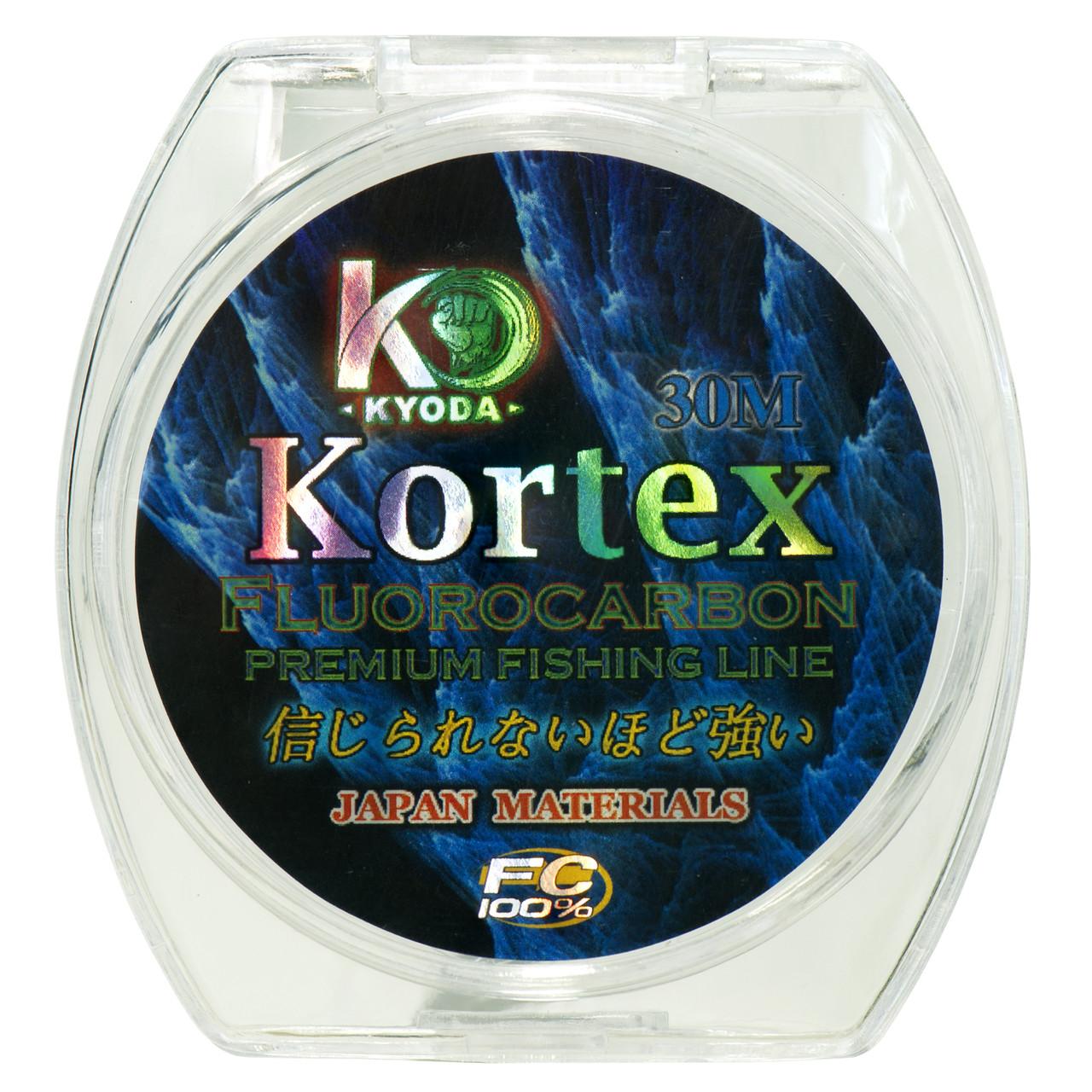 Kortex флюрокарбон d-0,12 мм, L-30 м,