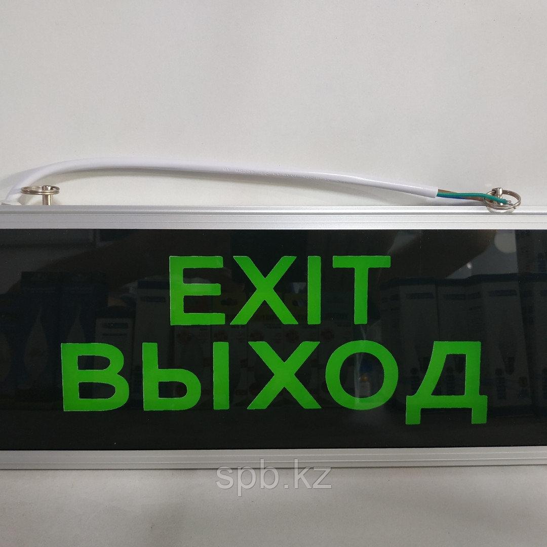 Световая вывеска Выход - Exit