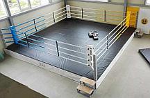 Ринг боксерский на подиуме Харламов-Спорт (размер в ассортименте)