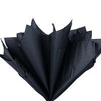 Бумага тишью, tissue paper , (черный) 10 листов, 50х66 см, Алматы