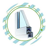 Алюминиевые окна и двери с термобарьером (теплая серия), фото 1