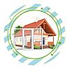 Пластиковые окна для коттеджа (загородного дома)